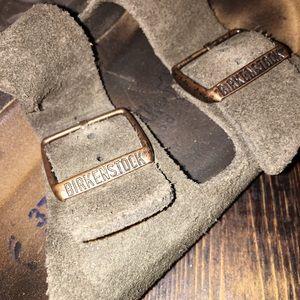 Birkenstock's - brown suede Arizona size 37